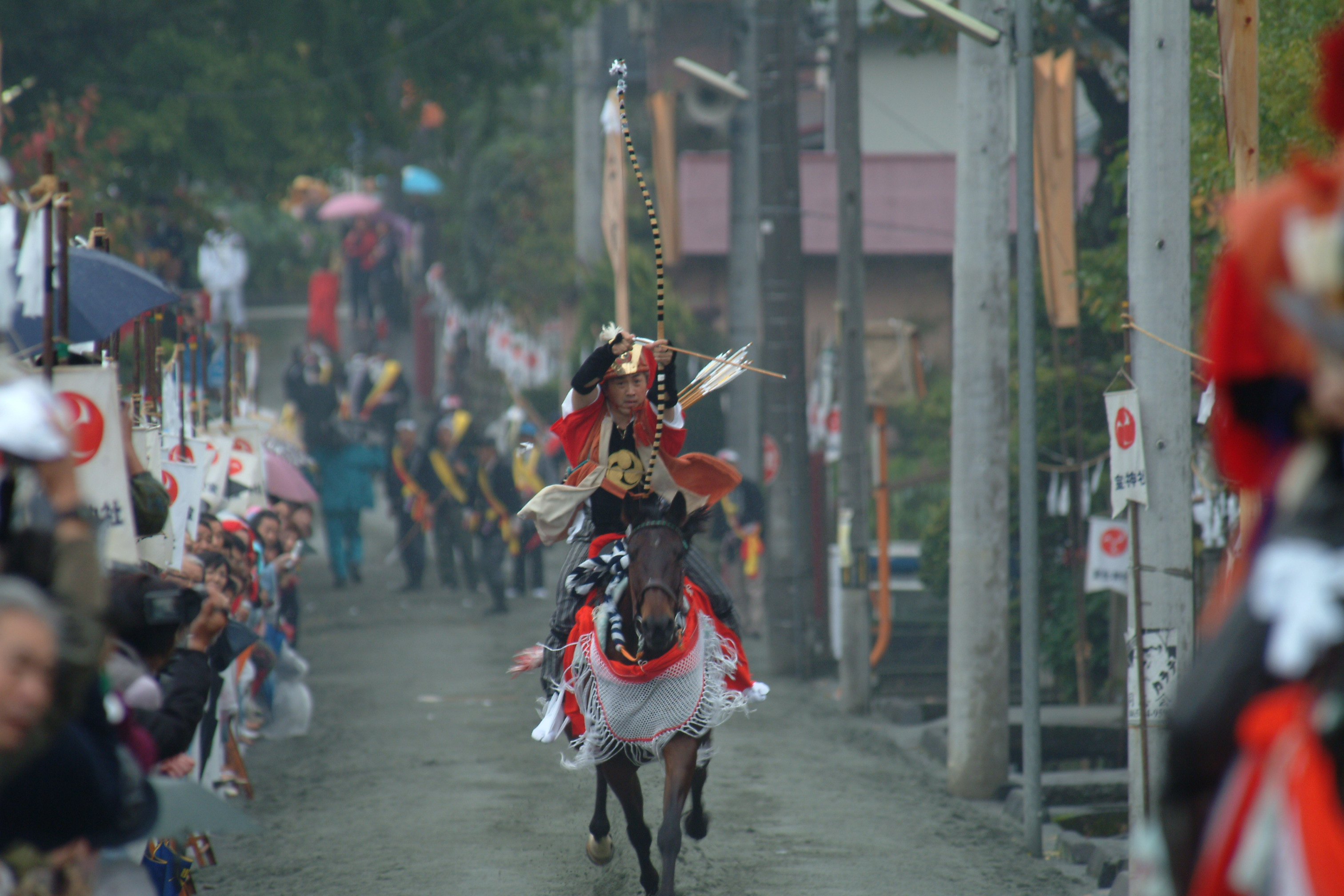 室生神社の流鏑馬 | 山北町